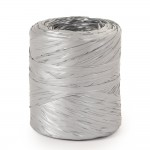 Polyraffia zilver in 15mm x 200M