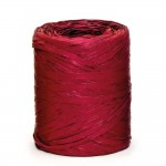 Raffia op rol bordeaux 15mm x 200m