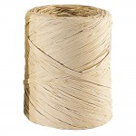Raffia op rol naturel 200 m x 15 mm